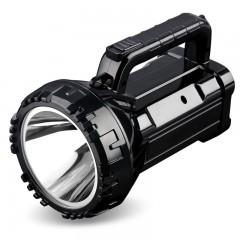久量LED强光手电筒可充电探照灯超亮户外巡逻多功能手提矿灯家用