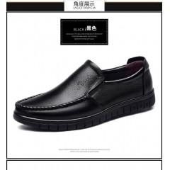 男鞋真皮镂空休闲凉皮鞋【头层牛皮】防滑爸爸鞋凉鞋男大码