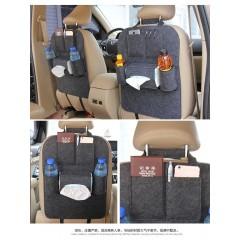 厂家直销 汽车收纳袋 车载后背置物袋 可定制 汽车用品 收纳袋